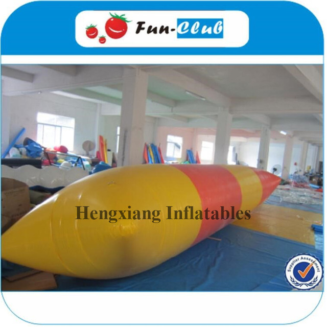 Good Quality 10x3m Outdoor Amazing game giant inflatable jumping water blob  for adult