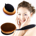Big Oval Tooth Brush Style Foundation Makeup Air Brush Loose Powder Soft Brush