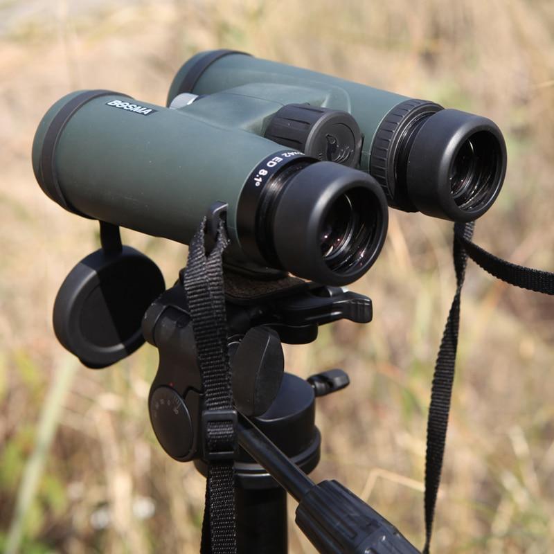 BOSMA Swan ED 8x42 10x42 Portable Binoculars BAK4 FMC HD Professional Photography Telescope Waterproof