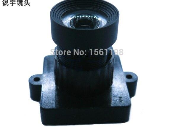 f2.97mm pixaero/ xiaomi YI/GoPro lens M12 cctv lens Portable Scanners Lens , wide lens for Surveillance camera 5megapixels