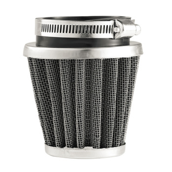 2018 New Universal 35/39/42/44/48/50/52/54/60mm Motorcycle Mushroom Head Air Filter Clamp On Air Filter Cleaner Hot Selling 80mm 100mm universal air filter mushroom head universal racing car air filter flow air intake system reloaded cleaner