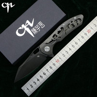 CH3515 Флиппер складной нож s35vn лезвие Титан Ручка Открытый Отдых выжить Охота карман фрукты Кухонные Ножи EDC инструменты