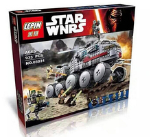 LEPIN 05031 Star Wars Clone Turbo Tank 75151 Building Blocks Compatible with STAR WARS Toy 05031 Boys Toys Birthday Gift legoe