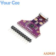 وحدة مستشعر البرق الرقمي AS3935 مستشعر مسافة العاصفة بالكشف عن البرق 2.4 فولت إلى 5.5 فولت واجهة SPI I2C