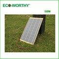 10 w epóxi painel solar 12 v carregador de bateria para motorhome RV boat luz do carro frete grátis