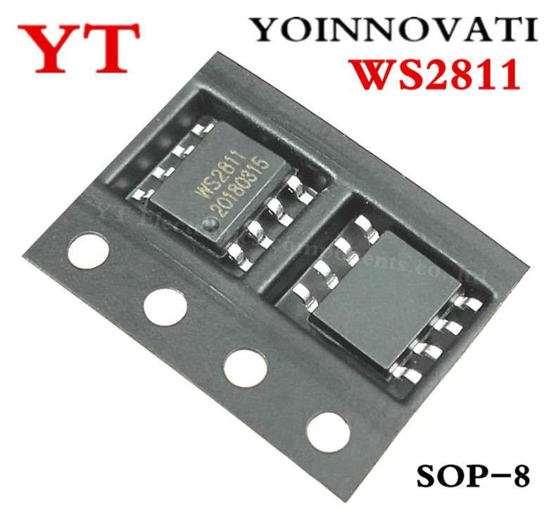 Integrated Circuits Impartial Free Shipping 100pcs/lot Ws2811s Ws2811 Sop-8 Ic Best Quality.