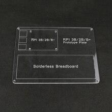 Raspberry Pi 3 Акриловая Пластина Крепления DIY Прототип Экспериментальной Площадкой для Raspberry Pi 3/2 Макет