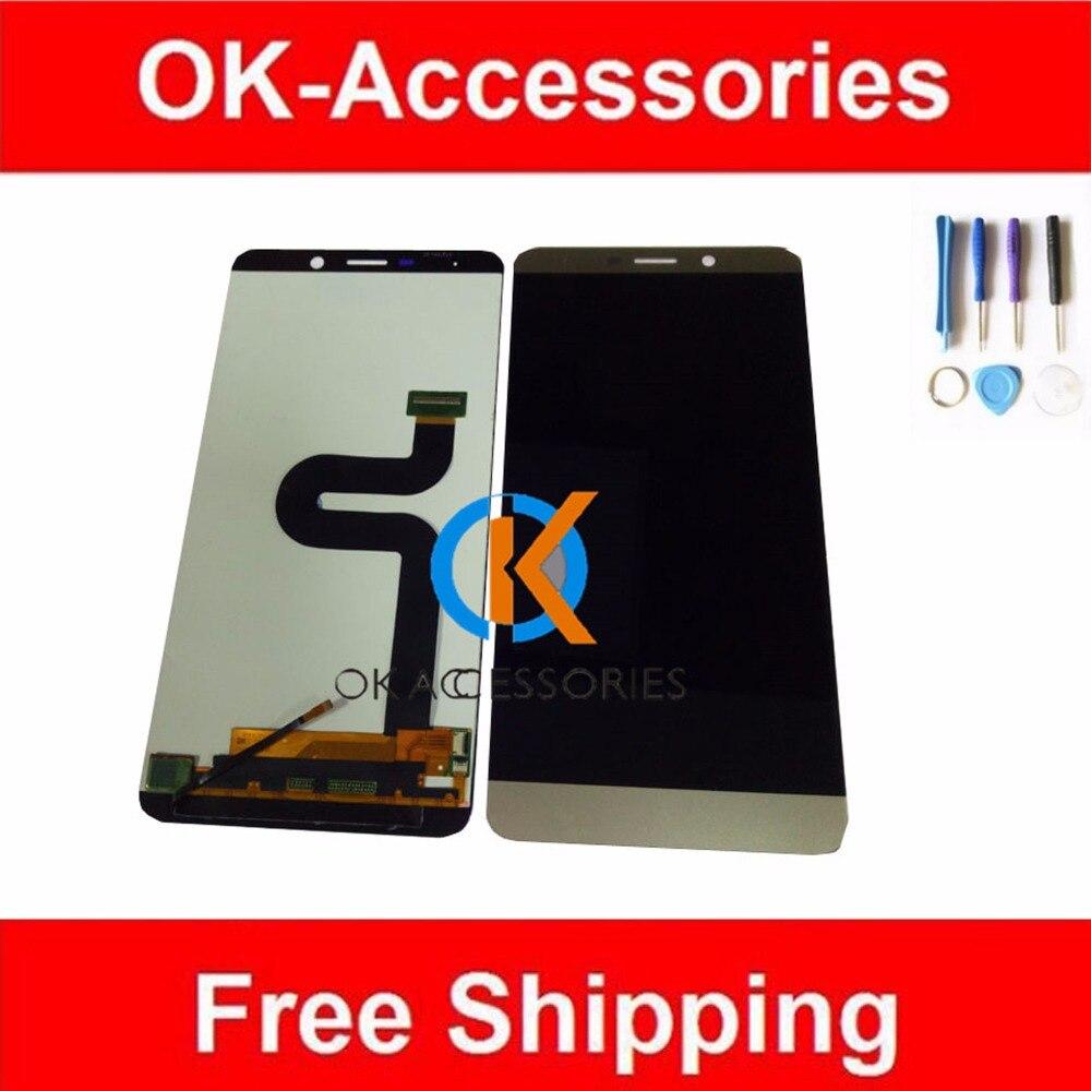 Oro bianco di Colore 100% Testato Per Letv X900 Le Max Display LCD + Touch Screen Digitizer Assembly 1 Pz/lotto Con strumenti