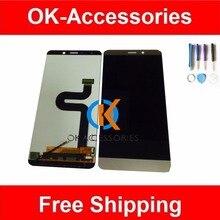 Oro blanco Color 100% Probado Para Letv X900 Le Max LCD Display + Touch Screen Digitalizador Asamblea 1 PC/Lot Con herramientas