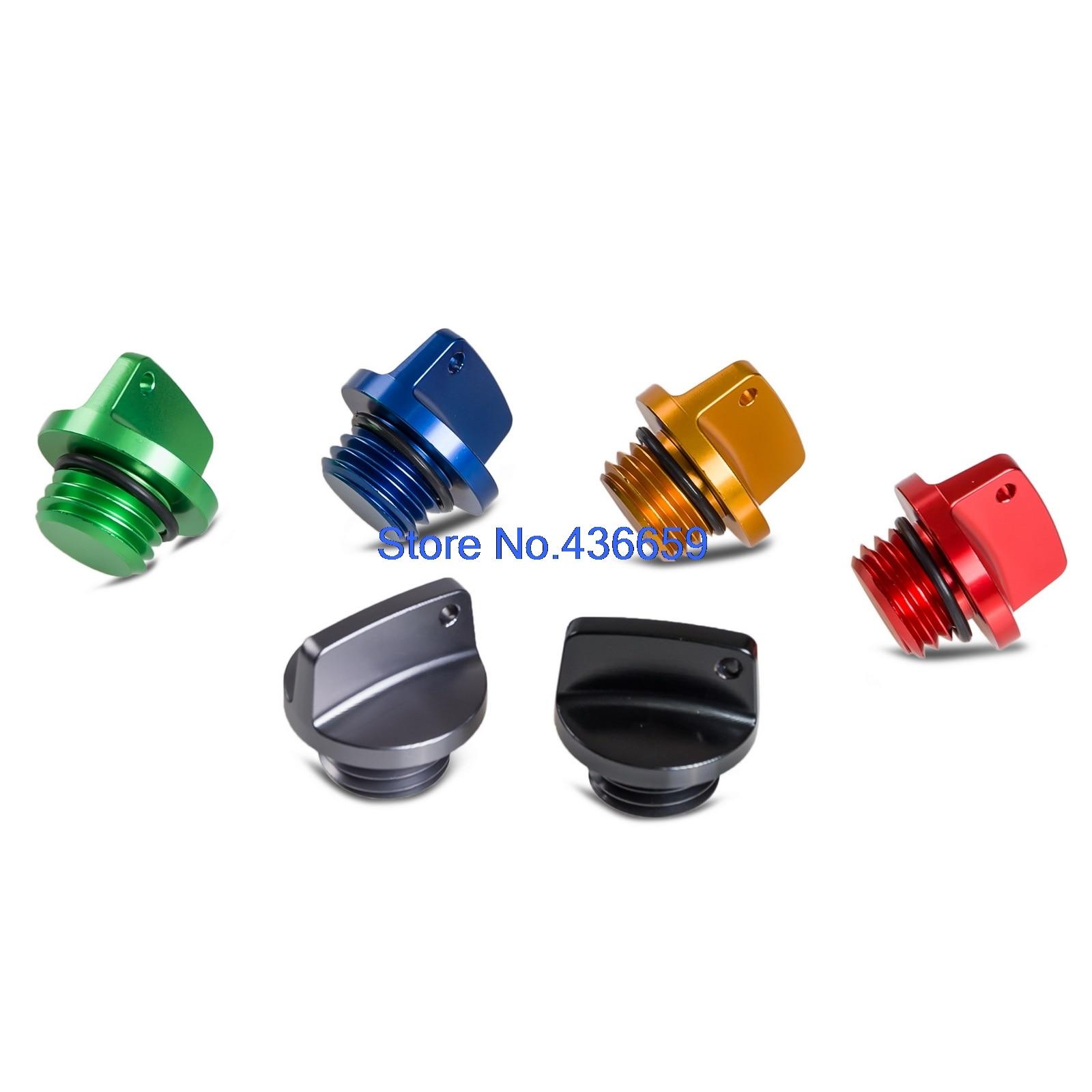 CNC Tapón de llenado de aceite Tapón para Honda CB250F CB300F CB400X CB400F CB400SF CB500X CB500F CB1100 VTR1000F VTR1200F VTR11200X CB250F