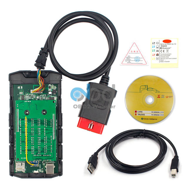 US $33 99  Multidiag TCS CDP Pro V3 0 Bluetooth 2016 00 With Keygen Car  Diagnostic Tool Double Board Green PCB CDP+ Auto Scanner For Car-in Code