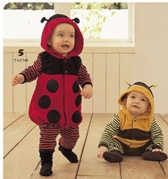 Free Shipping Animal Bee Ladyfly Shaped Spring And Autumn Children S Clothing Style One Piece Rompers