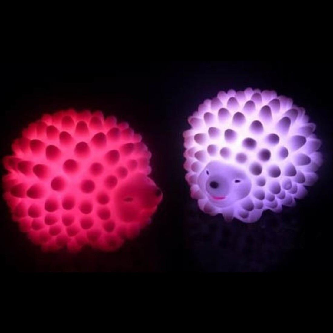 New Led Hedgehog Night Light Lamp Desk Lamp Changeable
