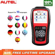 Autel AL519 OBD2 Scanner Diagnostic Tool Car Code Reader Escaner Automotriz Automotive Better than elm327