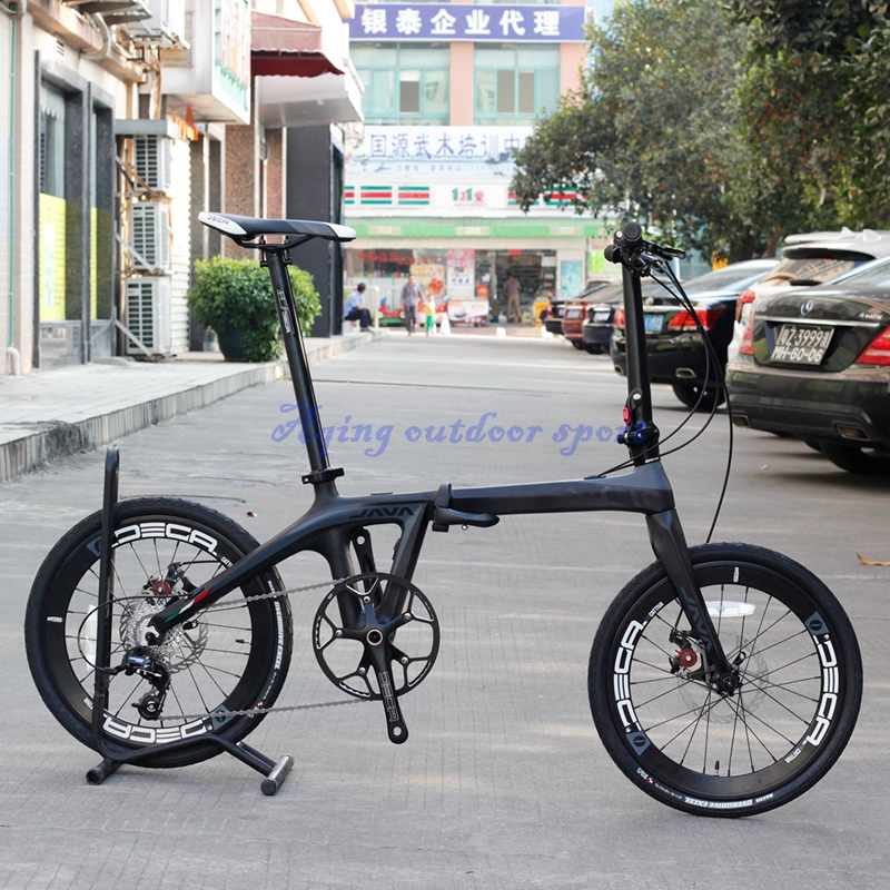 Java Air 20 406 Carbon Folding Bike Mini Velo Bicycle Urban