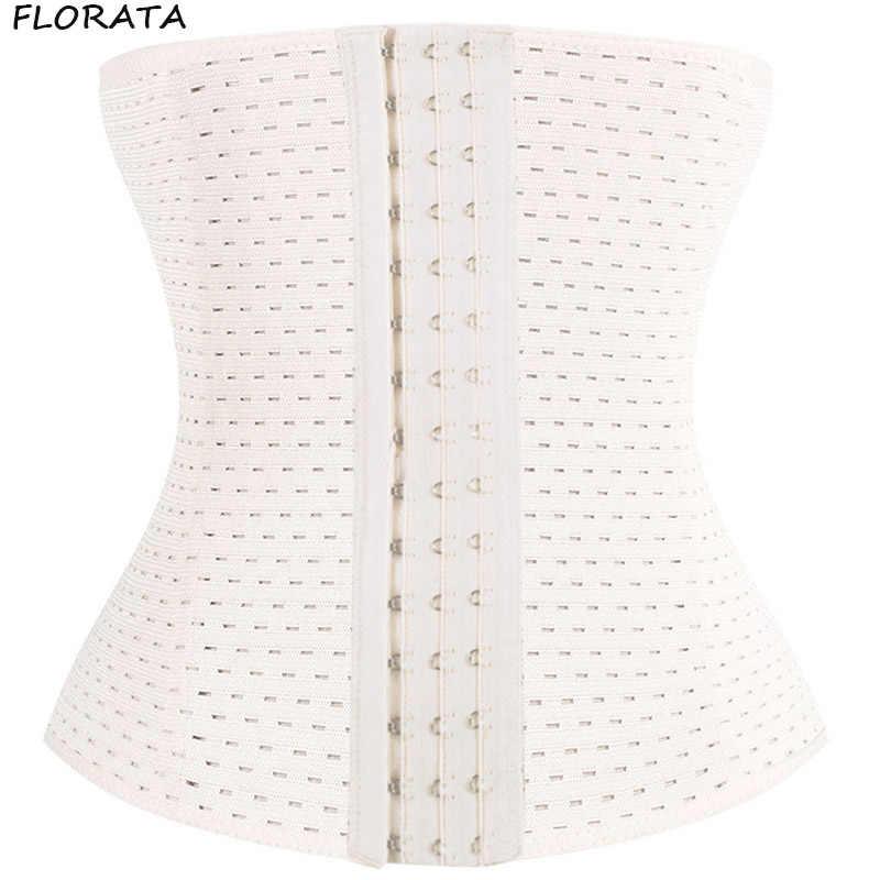 FLORATA горячий пояс для похудения Формирователь талии ремень Tummy фирма контроль Талии Тренажер Cincher корректирующее белье большого размера