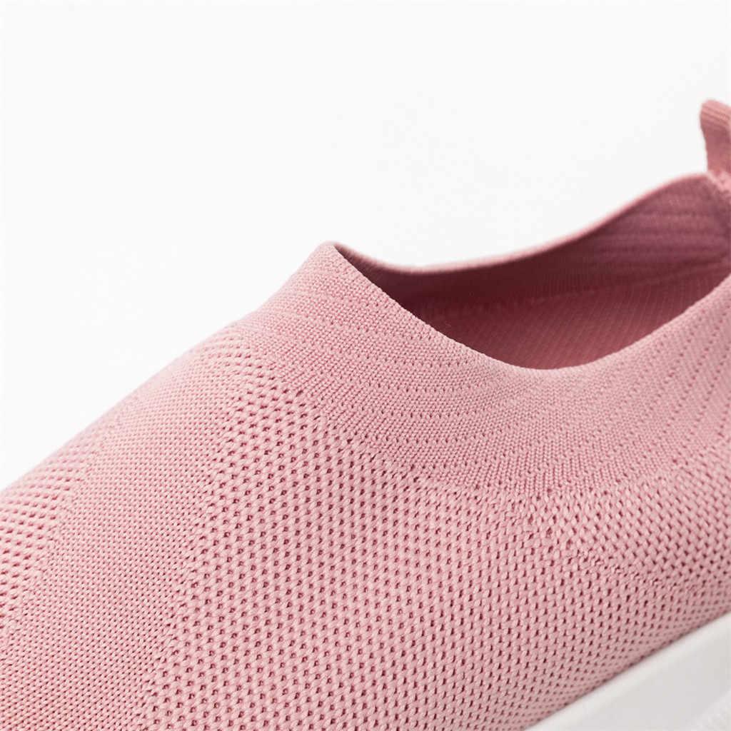 KANCOOLD Freizeit Frauen Outdoor-Sport Schuhe Runong Atmungsaktives Mesh Schuhe Lässig Leichte Bequeme Turnschuhe 2019