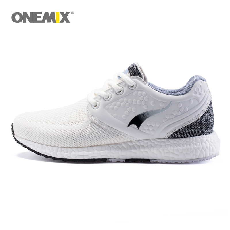 ONEMIX running shoes for women sneakers women breathable cool mesh space PU outdoor lighting for sports jogging walking sneakers kelme children white black smooth soccer shoes pu broken nail outdoor running sneakers k15s936