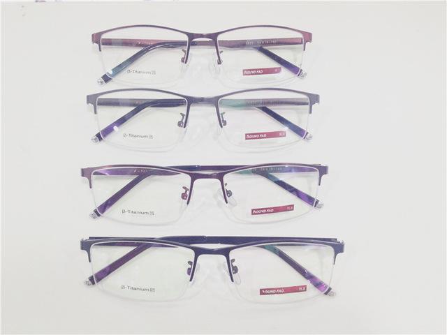Nuevo Patrón de Fondo Luz Exceder El Orden Real de Alta Archivos Masculina Gafas Óptica Gafas de Montura de gafas Azules de Asuntos de Negocios