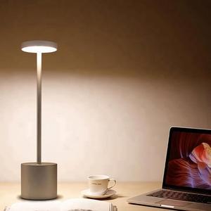 Image 2 - LED Table Lamp Modern Restaurant Dinner Light USB Rechargeable Creative Lighting Decor For Bar Hotel Dinning Room Waterproof