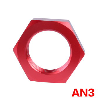 AN 3 Aluminum Fuel Fitting Adapter Substitute Oil/Fuel/Gas Line Hose Fittings Connector Connection 3 An image