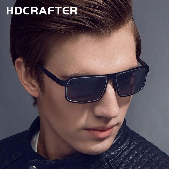 2017 new estilo polarizante polarizado gafas de sol de diseño de marca de verano deporte rectángulo gafas de sol gafas gafas de sol hombre fresco
