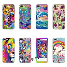 Colors Lisa Frank Tiger Horse Dog Cat TPU Soft Phone Case For Huawei Honor 4C 5A
