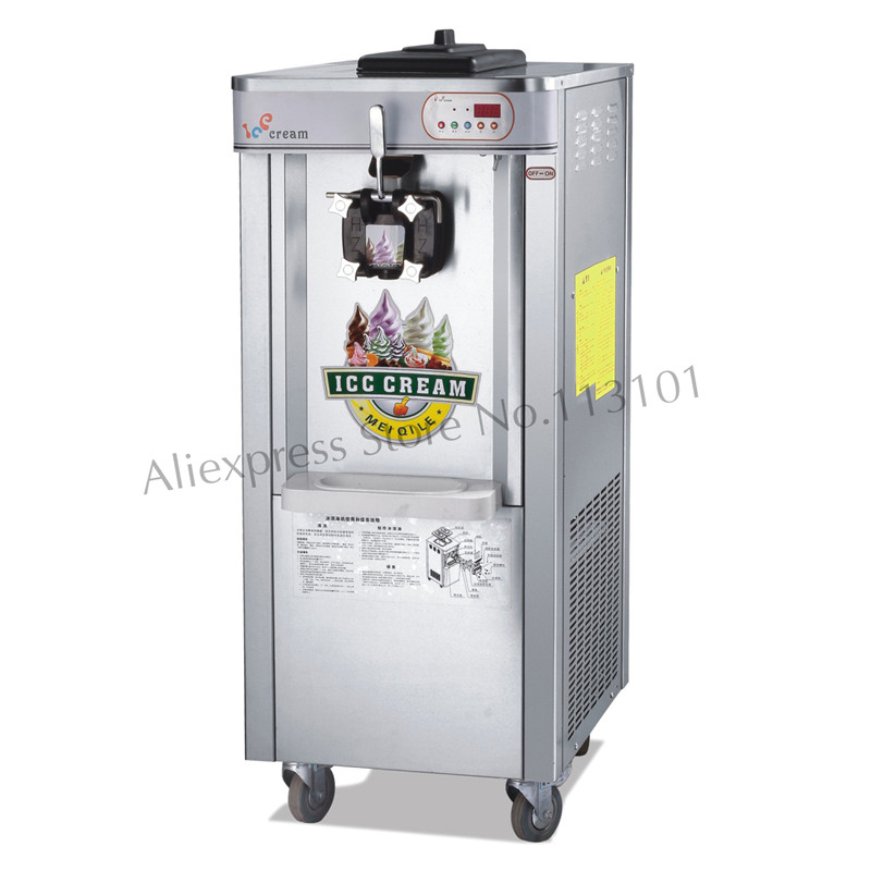 Commercial Soft Serve Ice Cream Machine Single Flavor 16~18 liters/Hour Floor Stand Type набор кастрюль сковорода vitesse vs 2222