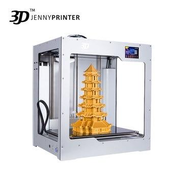 2019 Big Size! JennyPrinter4 X340 Single Or Dual Extruder  Auto Level 3D Printer DIY KIT For Ultimaker 2 UM2+ Extended 1