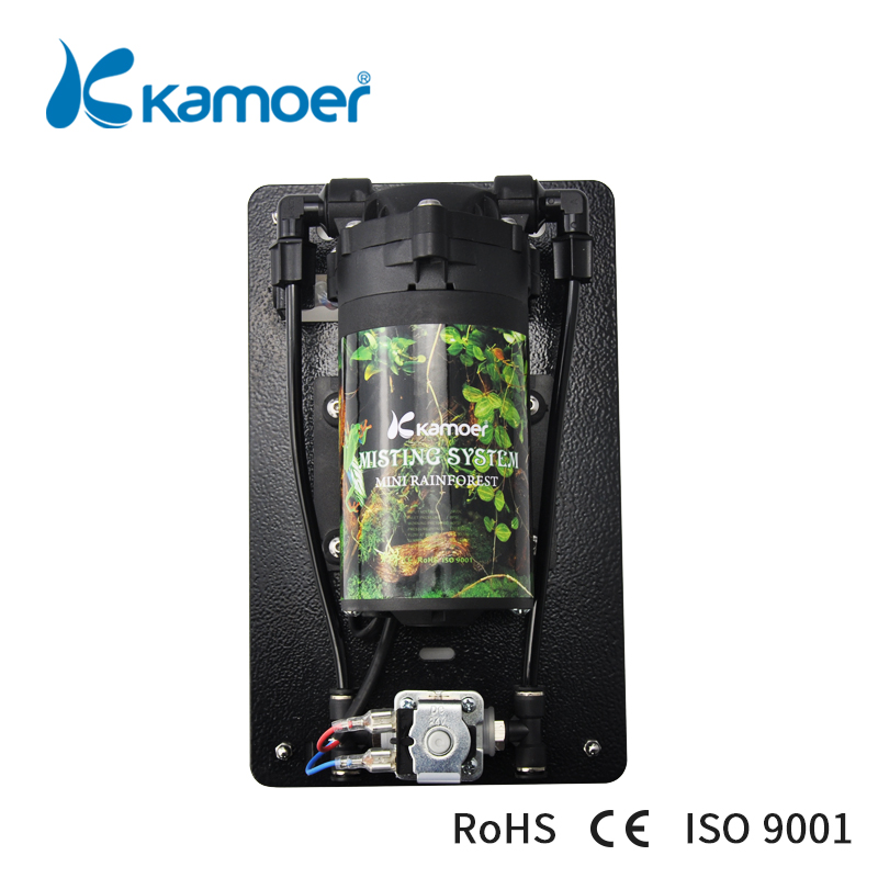 Kamoer new arrival min rainforest misting system for Reptile Aquaculture Ground Cooling atomized landscaping