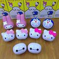 New Us Standard Adaptor For Hello Kitty Baymax Mobile Phone Charger Usb Fast For Apple Samsung Smartphone Cute Power Adapter