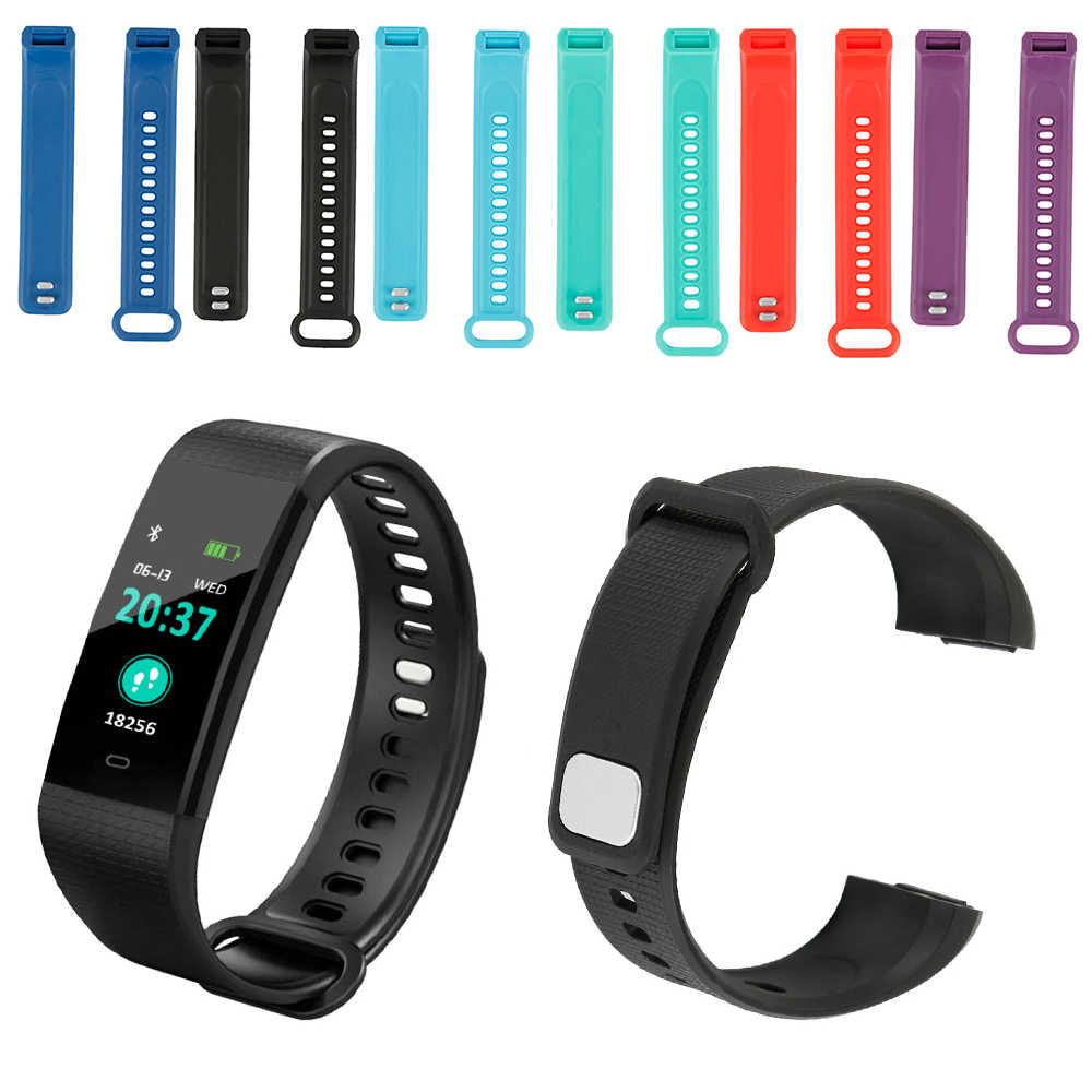New Sport TPU Materia Smart Bracelet Replacement Silicone Strap Band for Y5 Smart Bracelet Sport Wristbands