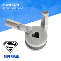 ZONESUN TDP1 5 5 Customized Punching Pill Press Mold 3D Punching Die For Punch Tablet Press