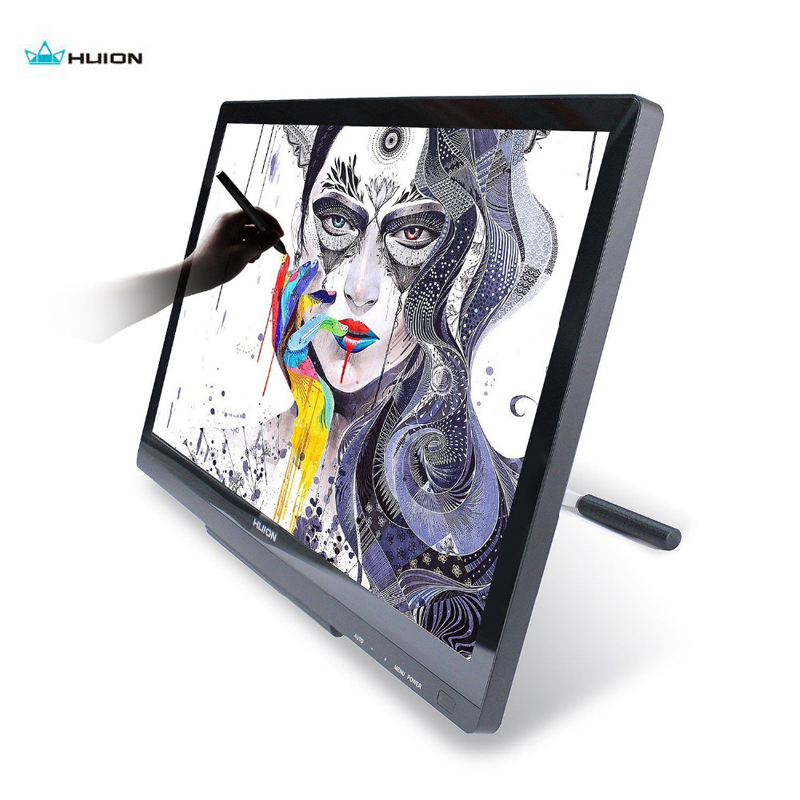 "Competent Huion Gt220 V2 Graphic Tablet Professional Drawing Monitor 21.5"" Ips Hd Touch Screen Display For 3d Tooling Teaching Animation"