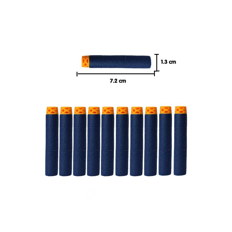 100 шт. темно-синий игрушки пули для nerf Retaliator серии бластеров Запасной Клип Дартс для детей игрушечный пистолет Аксессуары малыш