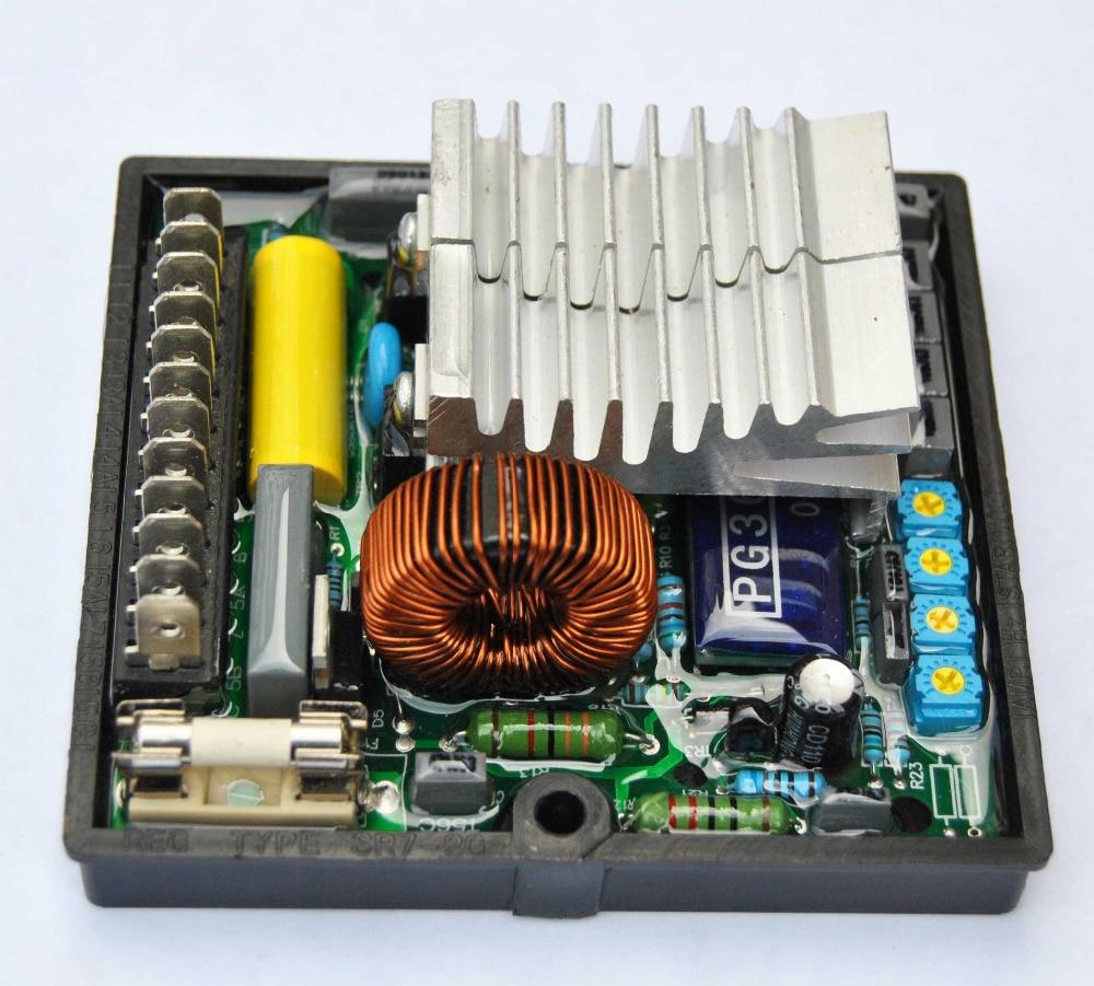 Automatic Voltage Regulator AVR SR7 For Generator SR7-2G high quality