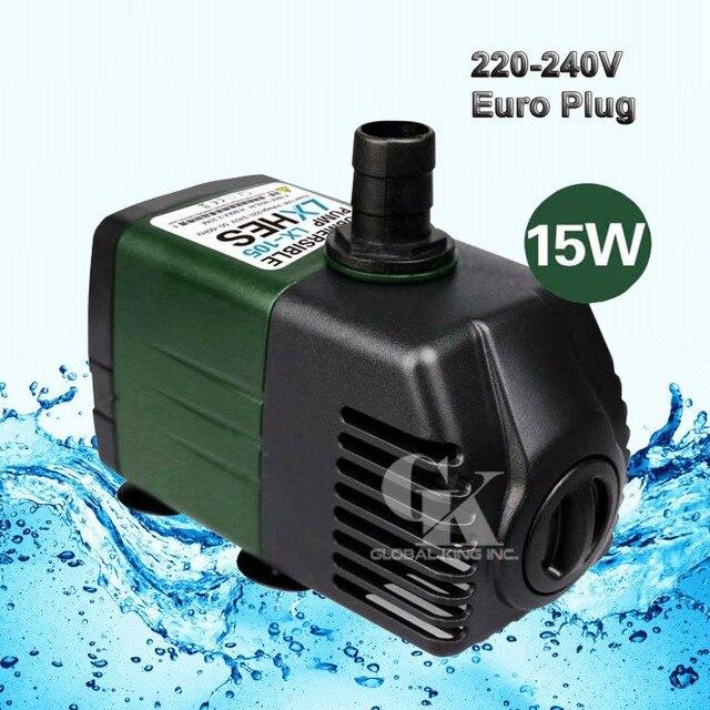 220v submersible water pump aquarium fish tank powerhead fountain