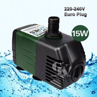 220V Submersible Water Pump Aquarium Fish Tank Powerhead Fountain Hydroponic 1800L/H,15W