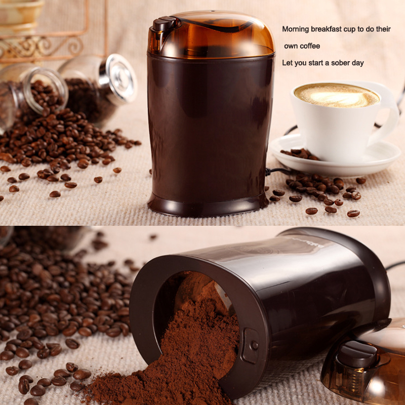 Household small grinder electric coffee grinder grinding mill цена и фото