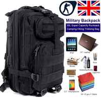 Military Tactical Bags Backpack Molle Rucksacks Outdoor Bags Sport Assault Pack Backpack Army Waterproof Bug Out Bag Small