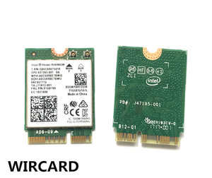 Image 5 - Wircard 듀얼 밴드 무선 ac 9560 인텔 9560ngw 802.11ac ngff 키 e 2.4g/5g 2x2 wifi 카드 블루투스 5.0