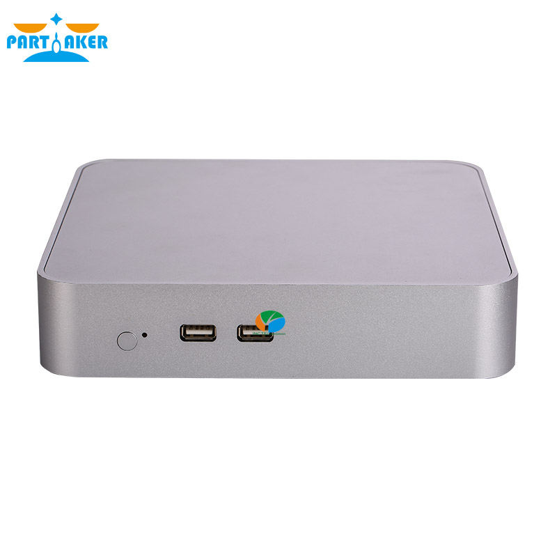 Teilhaftig Mini PC i5 6300HQ Quad Core Max 32G DDR4 RAM Windows 10 Fan Mini-Computer i5 mit AC WIFI bluetooth HDMI VGA DP