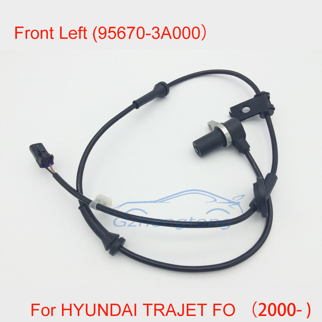 New ABS Wheel Speed Sensor Front Left High Quality Wheel Speed Sensor ABS Sensor For Hyundai Trajet FO 95670-3A000 956703A000