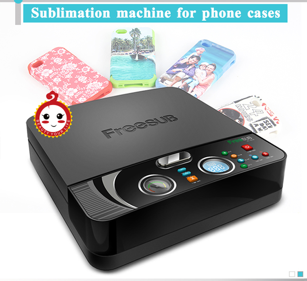 ST-2030 MINI 3D Sublimation Printer Heat Transfer Printing Machine 3D Vacuum Heat Press Machine for All Sublimation Phone Cases 1pc mould for 3d ipad case 3d vacuum sublimation machine heat press transfer