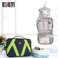 BUBM Travel Portable Organizer Bathroom Storage Cosmetic Bag Portable Hanging Toiletry Bag For Women Or Men