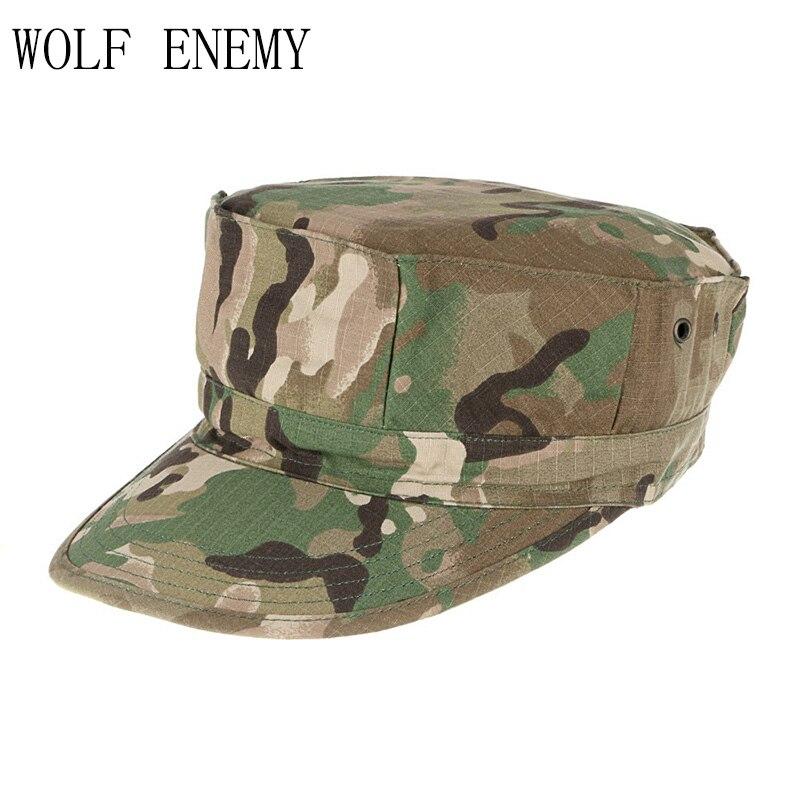 ACU CP пустыня цифровой камуфляж для лесистой местности Мультикам военные кепки Армейский Камуфляж шляпы морских пехотинцев Солнце Рыбалка Тактический Combat paintball шапки - Цвет: CP