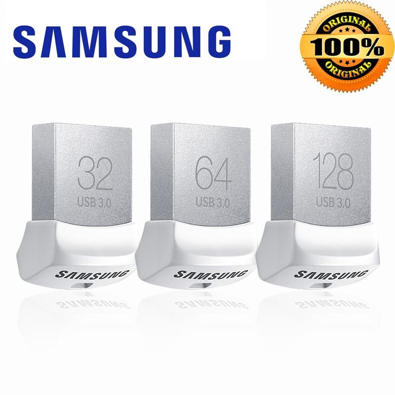 Samsung USB 3.0 flash drive 128 GB 64 GB 32 GB 150 MB/S mini pluma pendrive Memory Stick almacenamiento USB Pen Drive de Memoria цена и фото