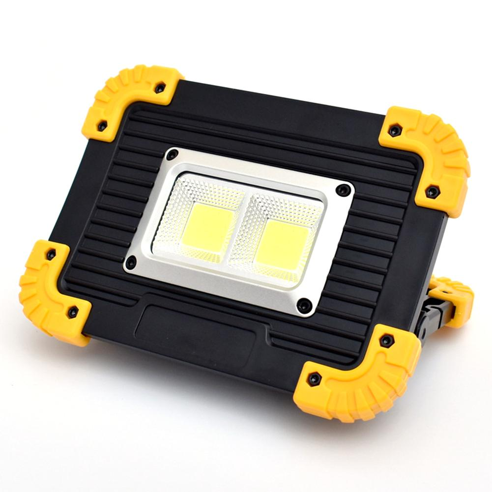 COB Rechargeable Work Light Floodlight USB Charging Portable Searchlight Emergency Light