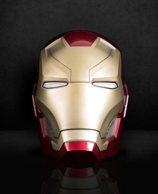 Ironman MK46 Head 1:1 Bluetooth Speaker LED