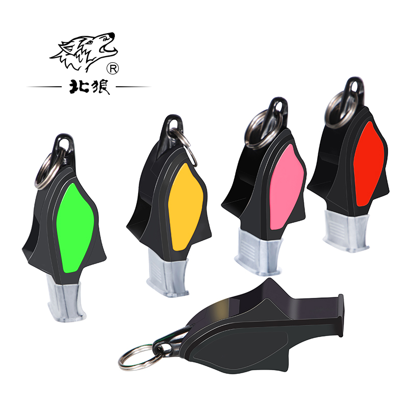 12pcs Referee coach training professional dolphin whistle basketball football sports waterproof resin free accessories